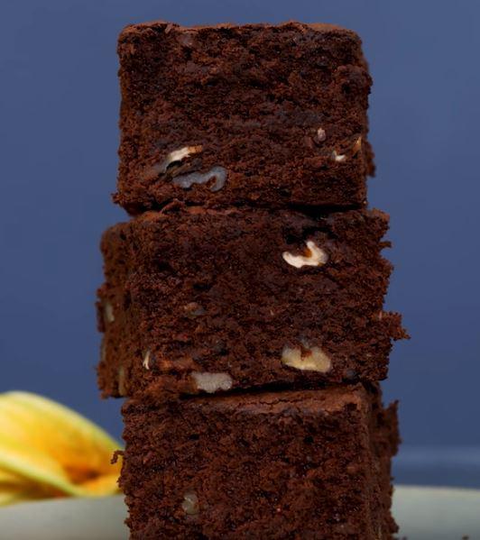 Un brownie où la courgette remplace le beurre5