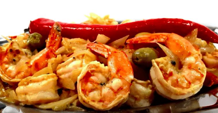 Yassa aux crevettes
