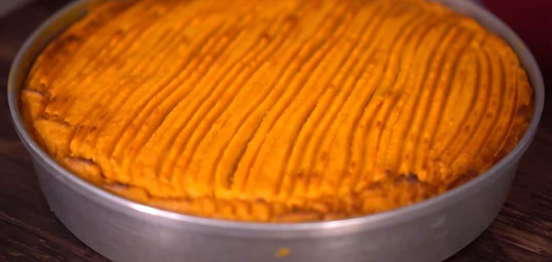 Gâteau à la patate douce
