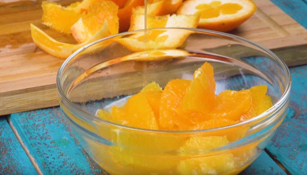 charlotte à l'orange, facon tiramisu