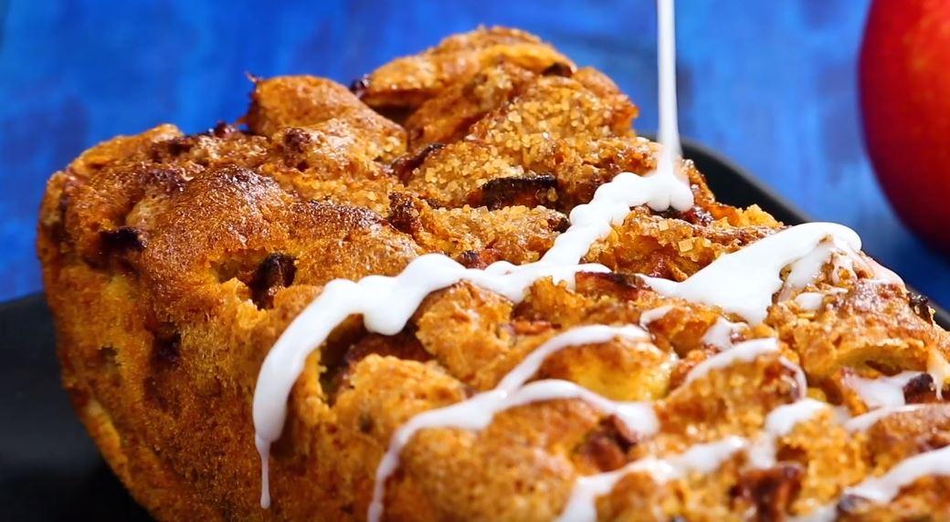 gâteau pommes cannelle