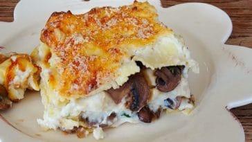 lasagnes aux champignons