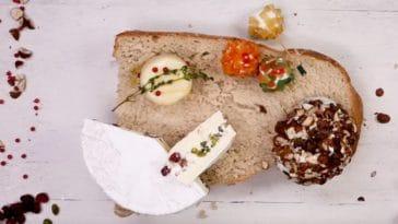 4 fromages festifs pour les fêtes
