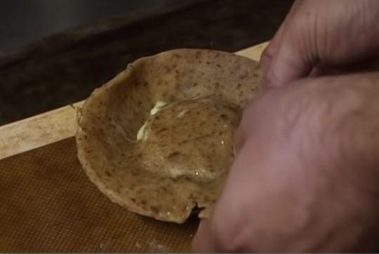 Tourte aux poireaux et fromage de brebis