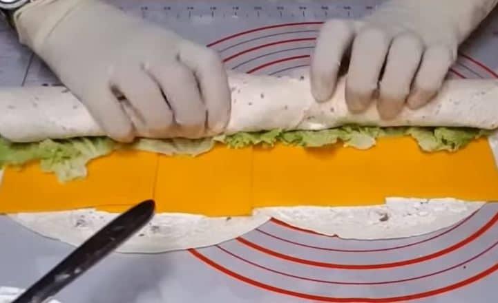 canapé jambon cheddar