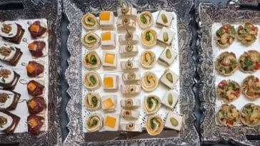10 assortiments de canapés pour les fêtes