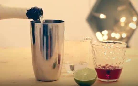 Cocktail de fête au Prosecco
