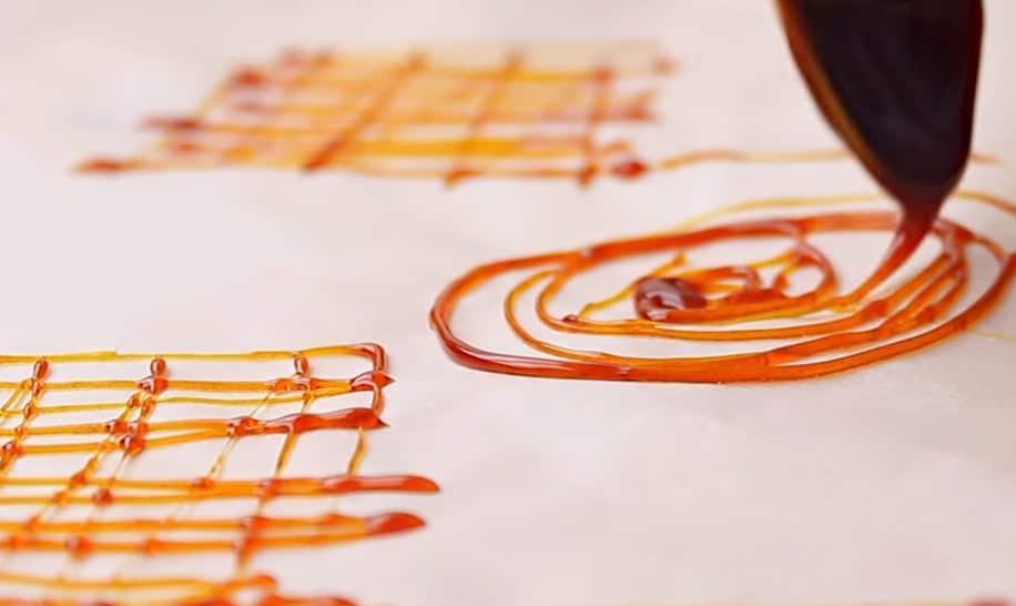 formes en caramel