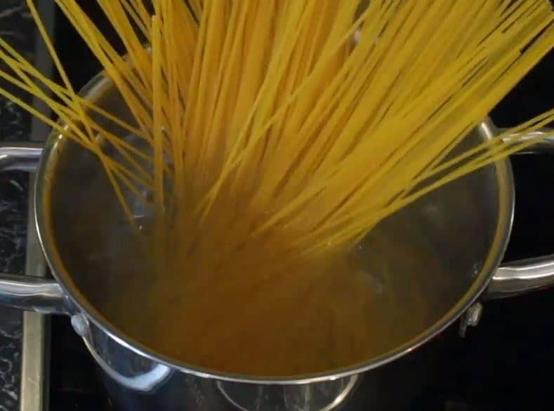 spaghettis avocats