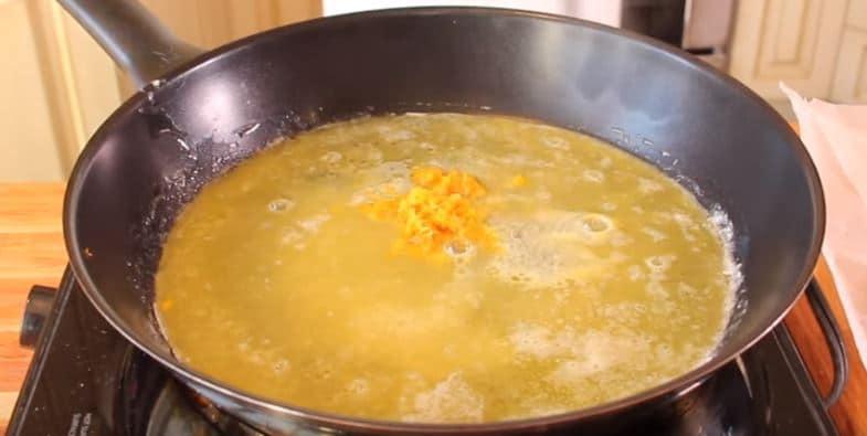 crêpes suzette au sirop d'érable