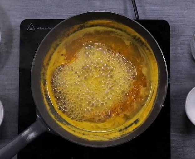 crêpes suzettes à l'orange