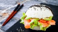 sushi hamburger