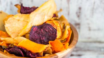 anti-gaspi : chips d'épluchures de légumes