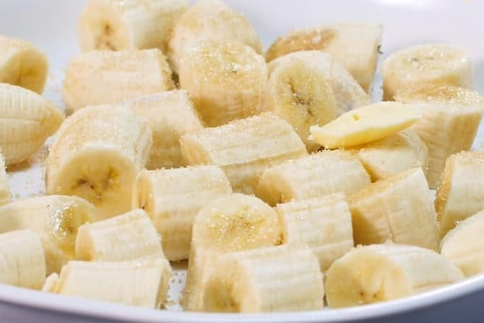 bananes rôties