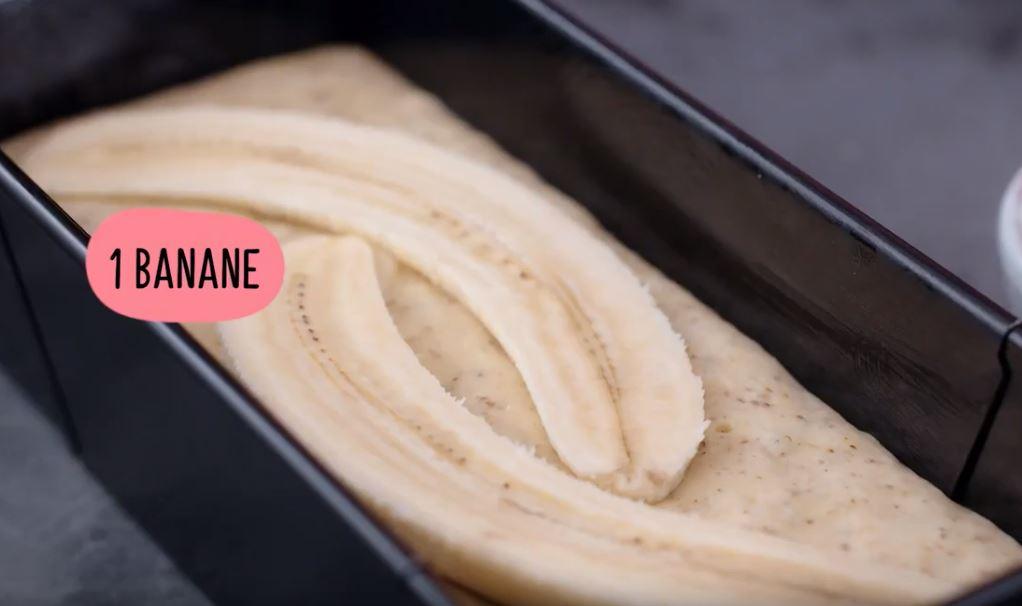cake bananes et amandes