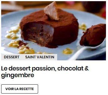 dessert passion gingembre
