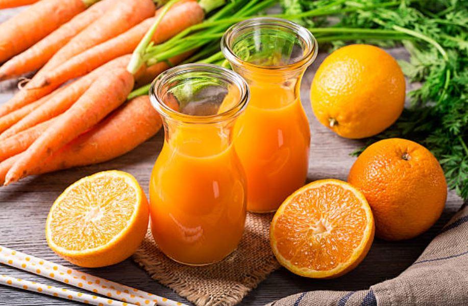 jus carottes et orange