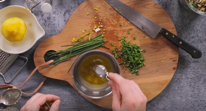 Salade asperges et morilles