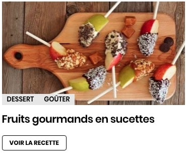 fruits gourmands