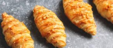 Croissants au Boursin et saumon