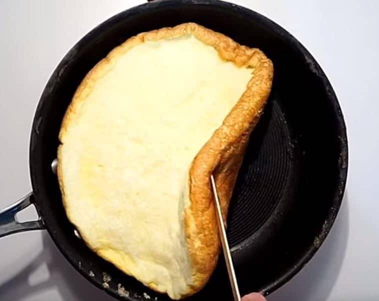 comment faire une omelette soufflée