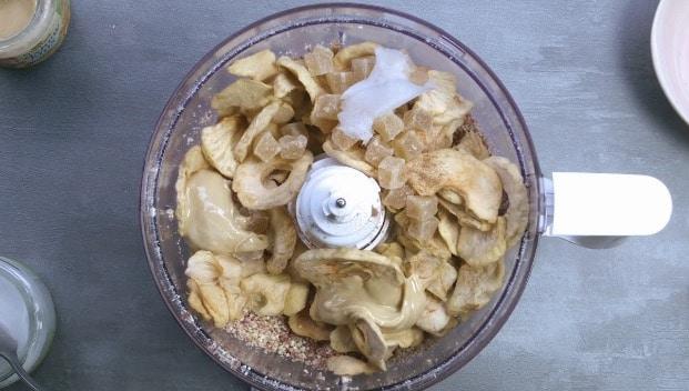 Energy balls à la pomme et aux noix de cajou