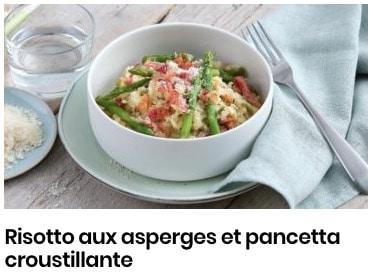 risotto d'asperges