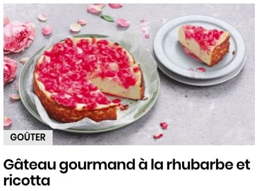 gâteau ricotta