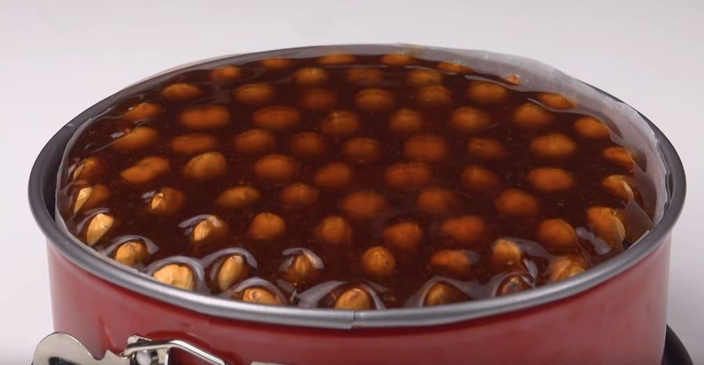 le gâteau royal au caramel et noisettes
