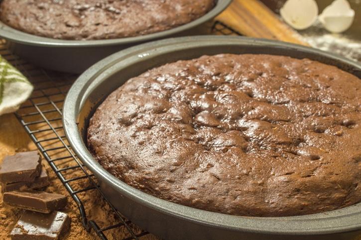 gâteau au chocolat ganache