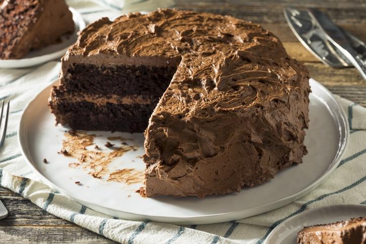 gâteau chocolat ganache