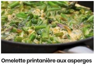 omelette printannière