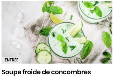 soupe concombre