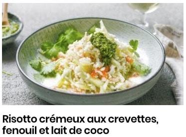 risotto fenouil