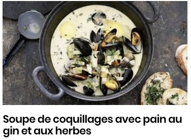 soupe coquillage