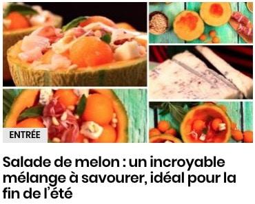 Salade de melon : un incroyable mélange à savourer, idéal pour la fin de l'été