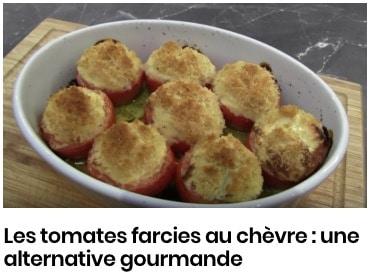 Les tomates farcies au chèvre : une alternative gourmande