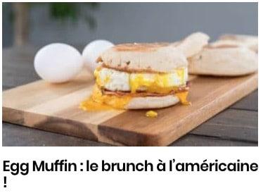 Egg Muffin : le brunch à l'américaine !