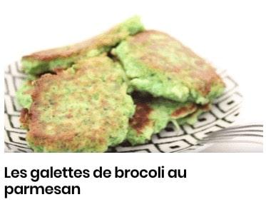 Les galettes de brocoli au parmesan