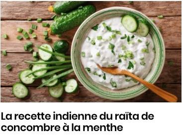 raita de concombre