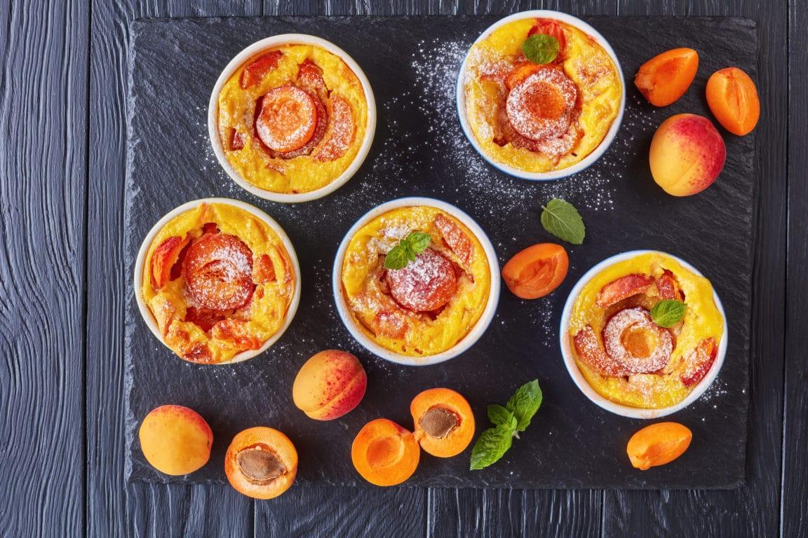 clafoutis abricots pistaches