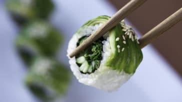 Sushis aux légumes