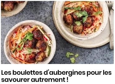 Boulettes aubergines