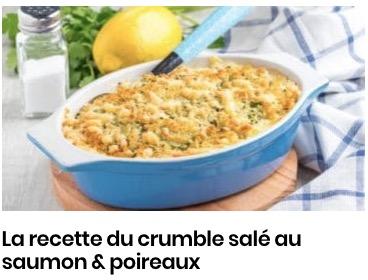 crumble salé