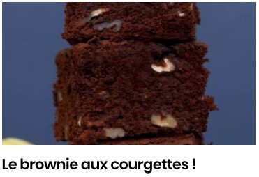 brownie aux courgettes