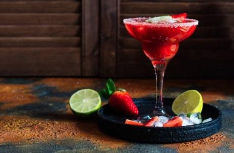 La Margarita à la fraise