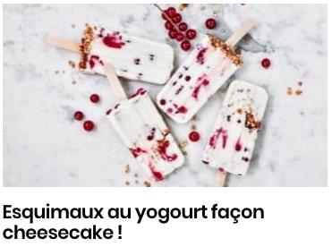 esquimaux yaourt
