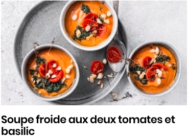 soupe froide tomates