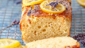 cake citron lavande