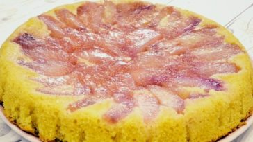 gâteau yaourt aux pêches